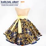 Exploding Tardis Doctor Who Tea Length Skirt