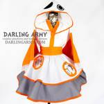 BB-8 Star Wars Force Awakens Cosplay Kimono Dress