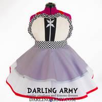 Roxas Kingdom Hearts Cosplay Pinafore Dress by DarlingArmy
