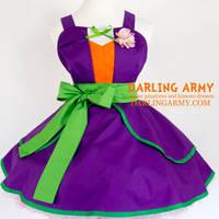 Joker - Batman - Cosplay Pinafore Dress by DarlingArmy
