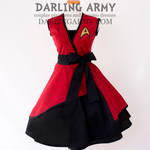 Star Trek Vintage Inspired Cosplay Wrap Dress
