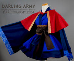 Doctor Strange Cosplay Kimono Dress and Capelet