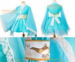 Princess Jasmine - Aladdin - Cosplay Kimono Dress