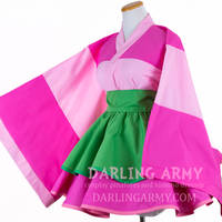 Sango Inuyasha Cosplay Kimono Dress by DarlingArmy