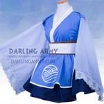 Deluxe Katara Avatar TLA Cosplay Kimono Dress