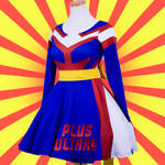 All Might My Hero Academia Printed Cosplay Dress