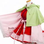 Deluxe Akatsuki no Yona Cosplay Kimono Dress