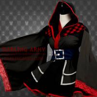 Kingdom Hearts 3 Sora Cosplay Kimono Dress