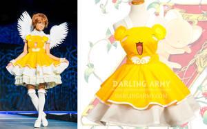 Keroberos Cardcaptor Sakura Cosplay Pinafore Dress by DarlingArmy