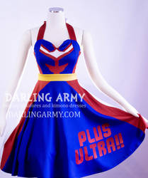 All Might My Hero Academia Cosplay Swing Dress by DarlingArmy