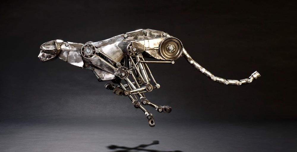 Mechanical metal cheetah run 5-1 by Andrew-Chase