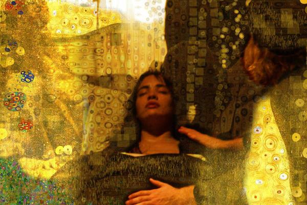 In style of Klimt by JUET