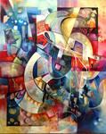 Mangala abstract painting