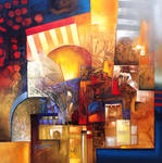 Adonis abstract painting
