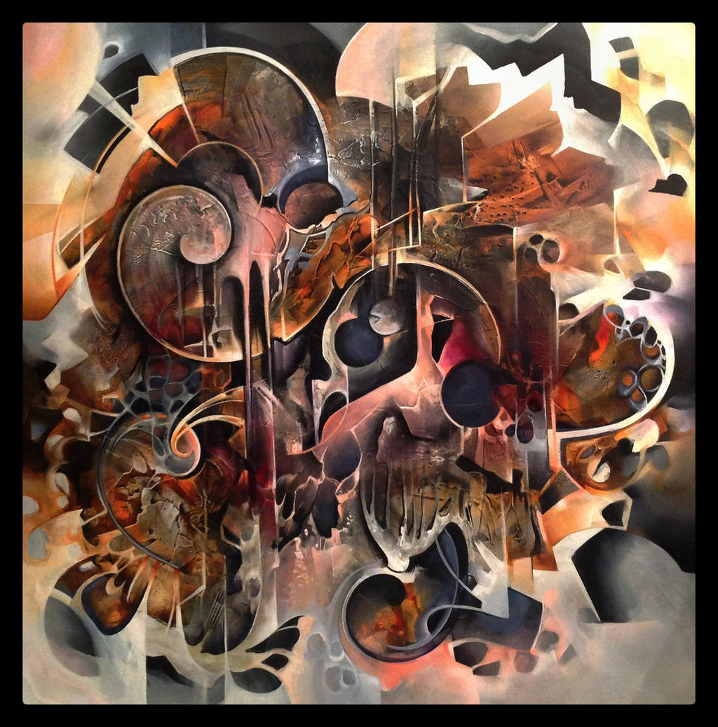Platinia abstract painting in progress by amytea on deviantart for Most beautiful abstract art