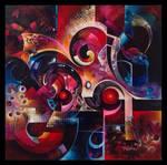 Polaris abstract painting