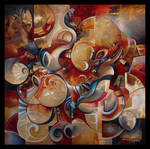 DEORO abstract painting