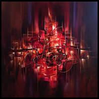 Kalangra... abstract painting by Amytea