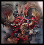 Phenix abstract painting