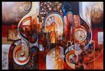 ispahan abstract painting