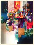 Jungle pop abstract ( in progress )