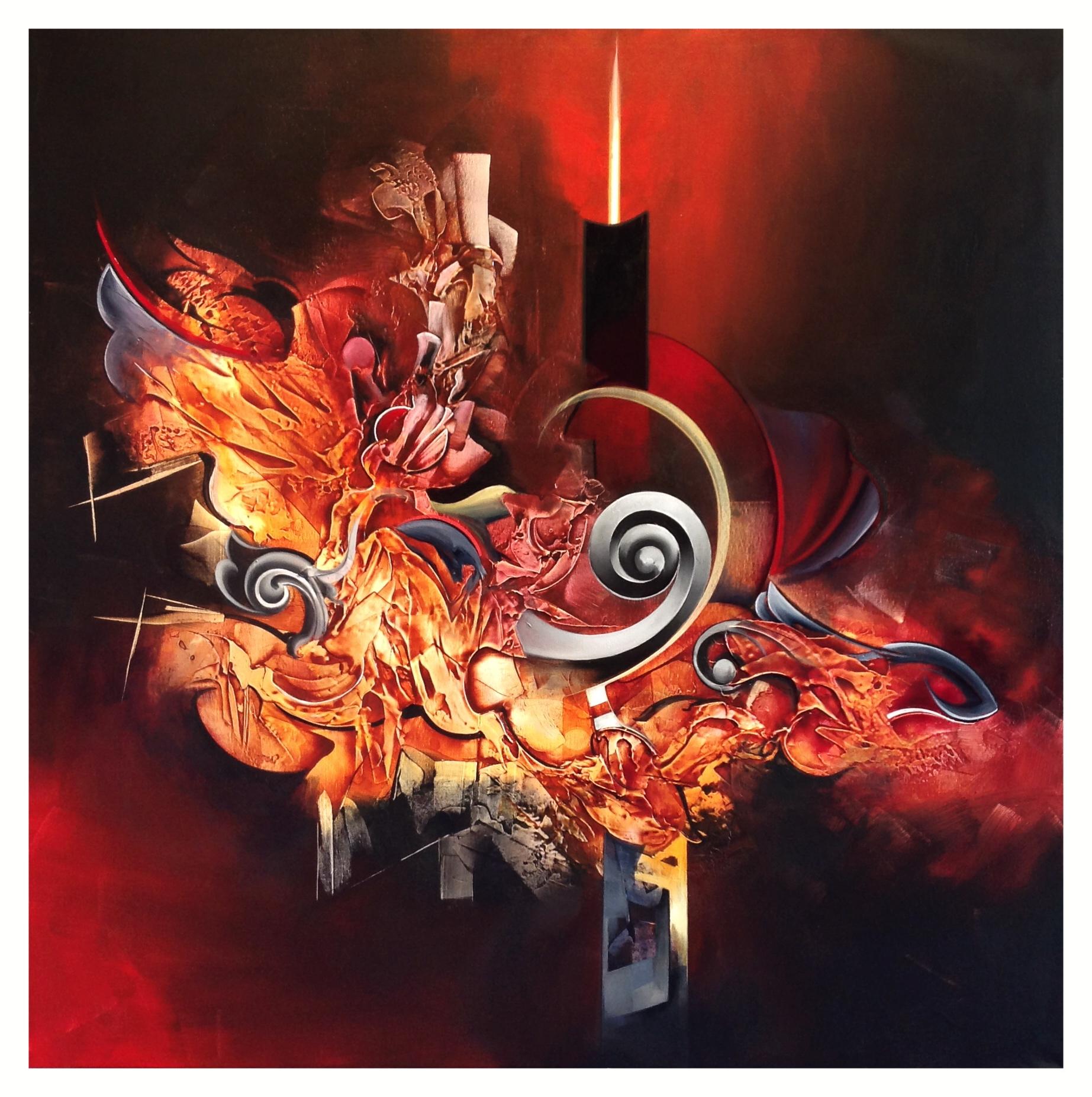Amber swirls ( inprogress ) by Amytea