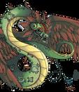 Quetzalcoatl Pixel by griffling