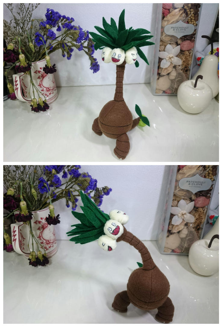 Aloha Exeggutor plushie by fluffyducky-plushie