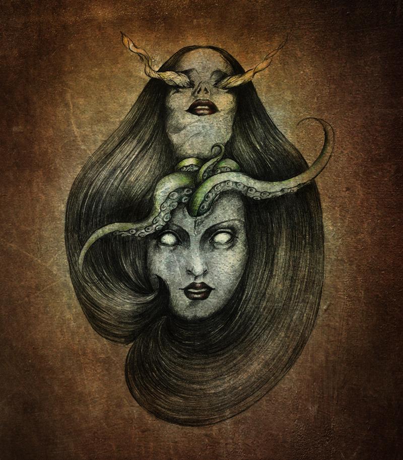My Lovecraftian Love Pt.II by bjesomarka