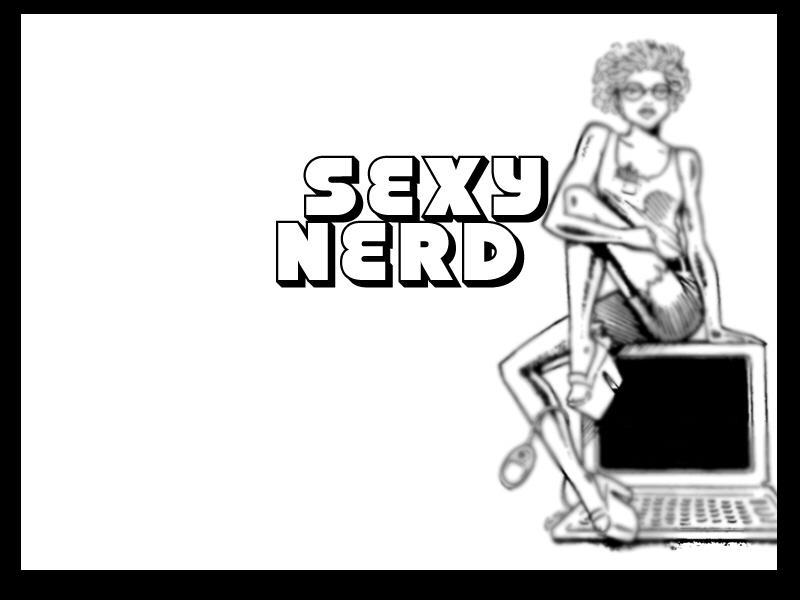 SEXY NERD WALLPAPER By Rocketboy15