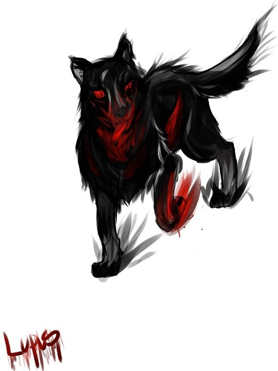 Black Wolf Green Eyes Anime | www.imgkid.com - The Image ...