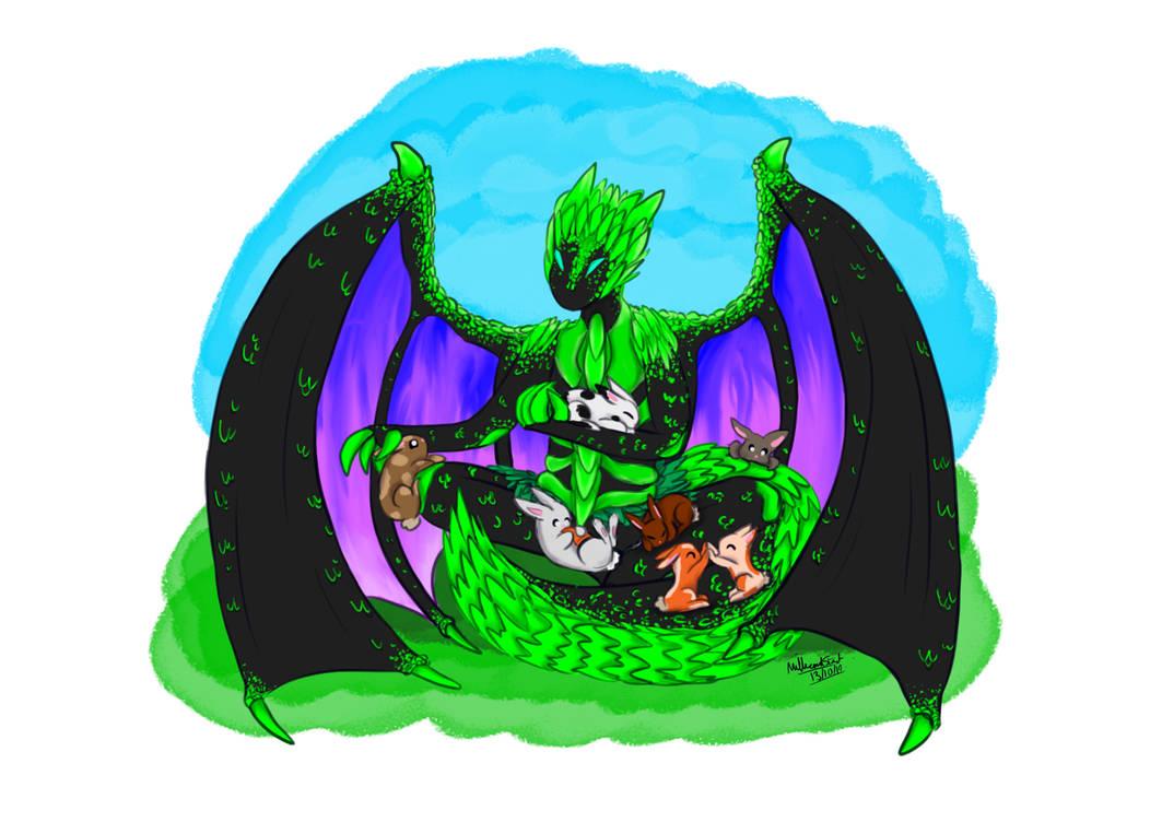 Inktober Day 12 Dragon V2