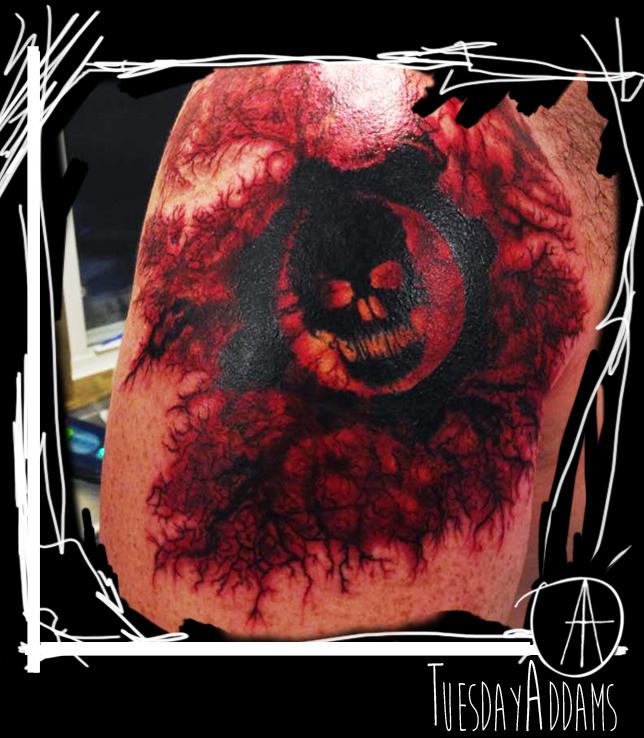 Gears Of War Tattoo by TuesdayAddams on DeviantArt