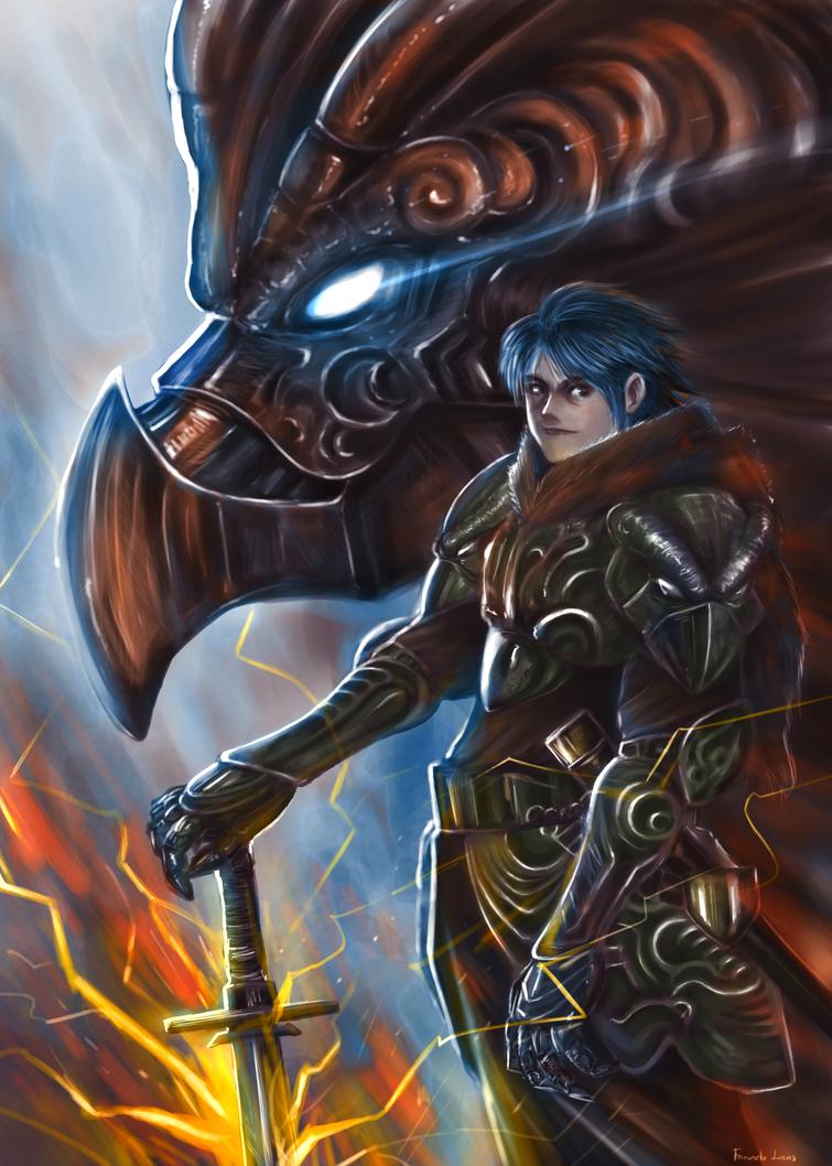 Dragon Warrior by finaladventure