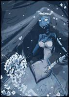 corpse bride scribble by Araniel