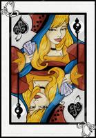 Queen of Spades by Araniel