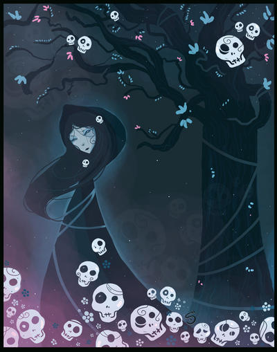 october night by Araniel