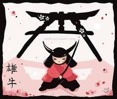 little samurai by Araniel