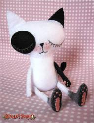 Spotted Cat by BibelotForest