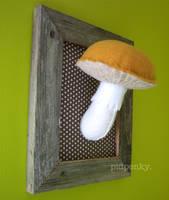 yellow mushroom by BibelotForest