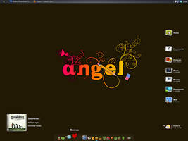 July Desktop: Angel