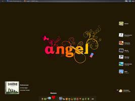 July Desktop: Angel by grevenlx