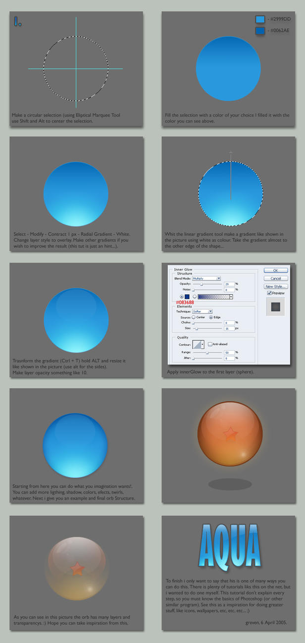 Aqua Tutorial by grevenlx
