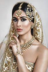 Indian Bridal by AlRocksUrSocks