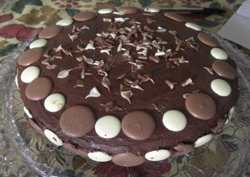 Chocolate buttons cake by S-y-c on DeviantArt