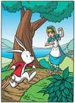 alice ed il bianconiglio