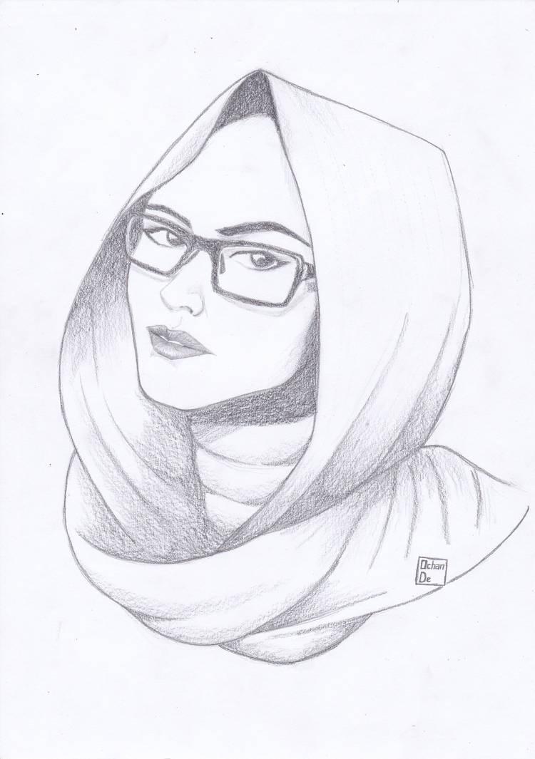 Hijab girl 1 by ochande