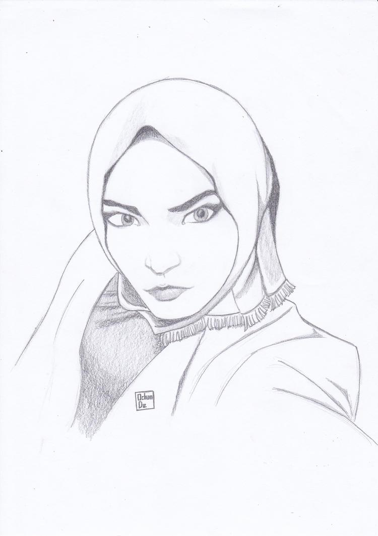 Hijabgirl 2 by OchanDe