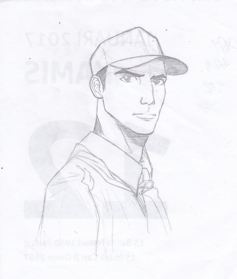Self portrait by OchanDe