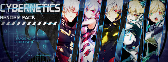 Closers - Cybernetics render pack